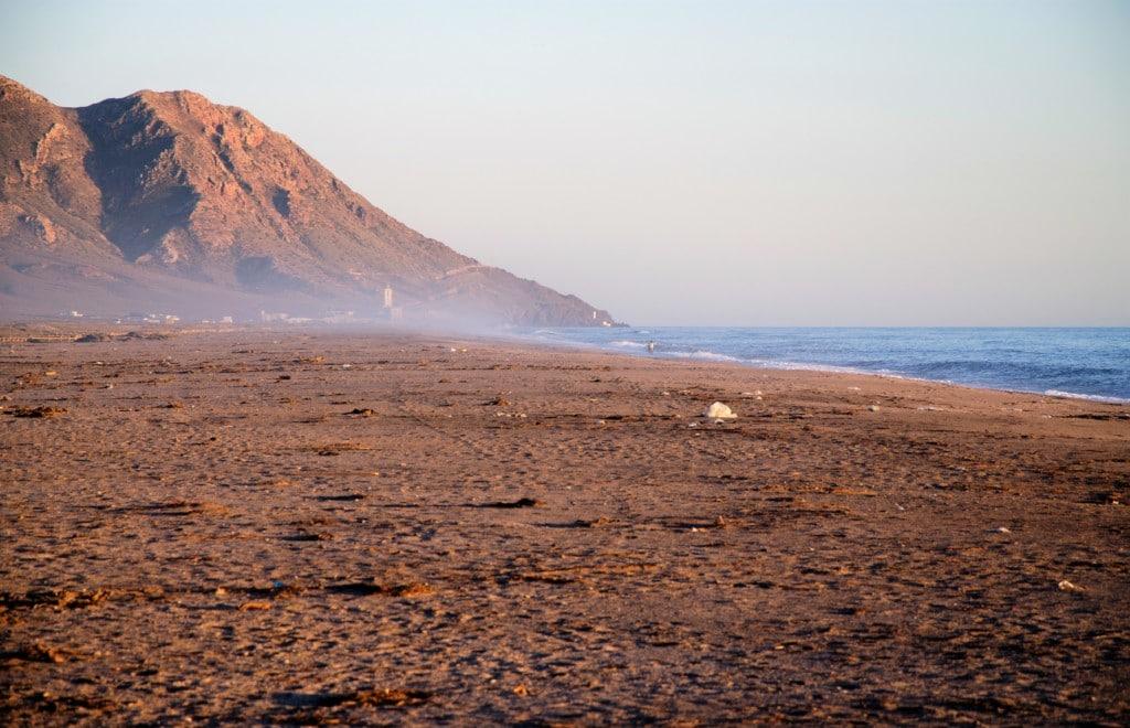 Playa Las Salinas de Cabo de Gata