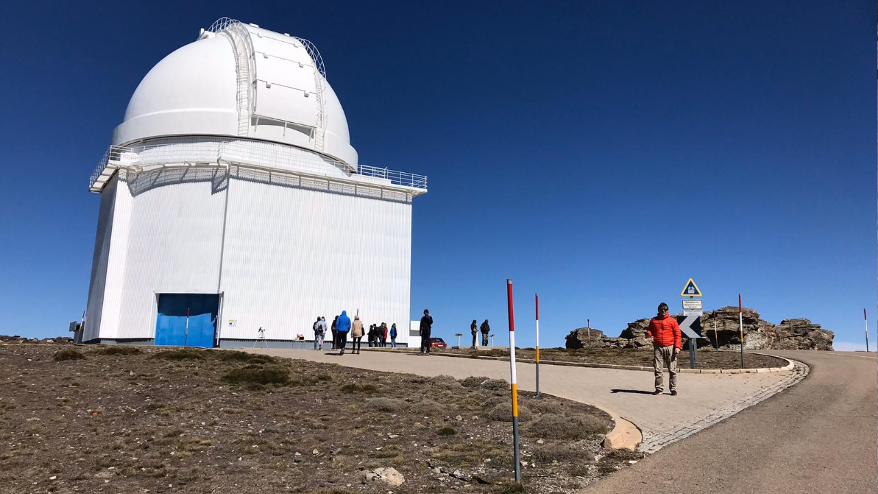Visitas observatorio astronómico Calar Alto