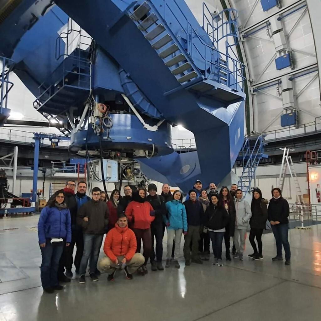 visita Calar Alto telescopio